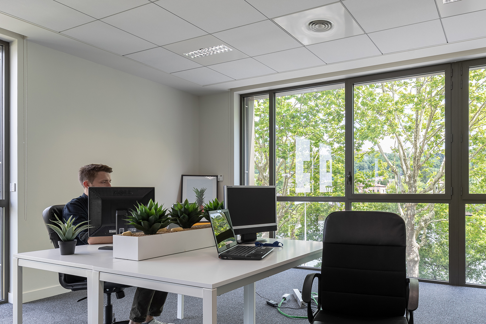 L'espace de colocation d'entreprises Focus Babolat