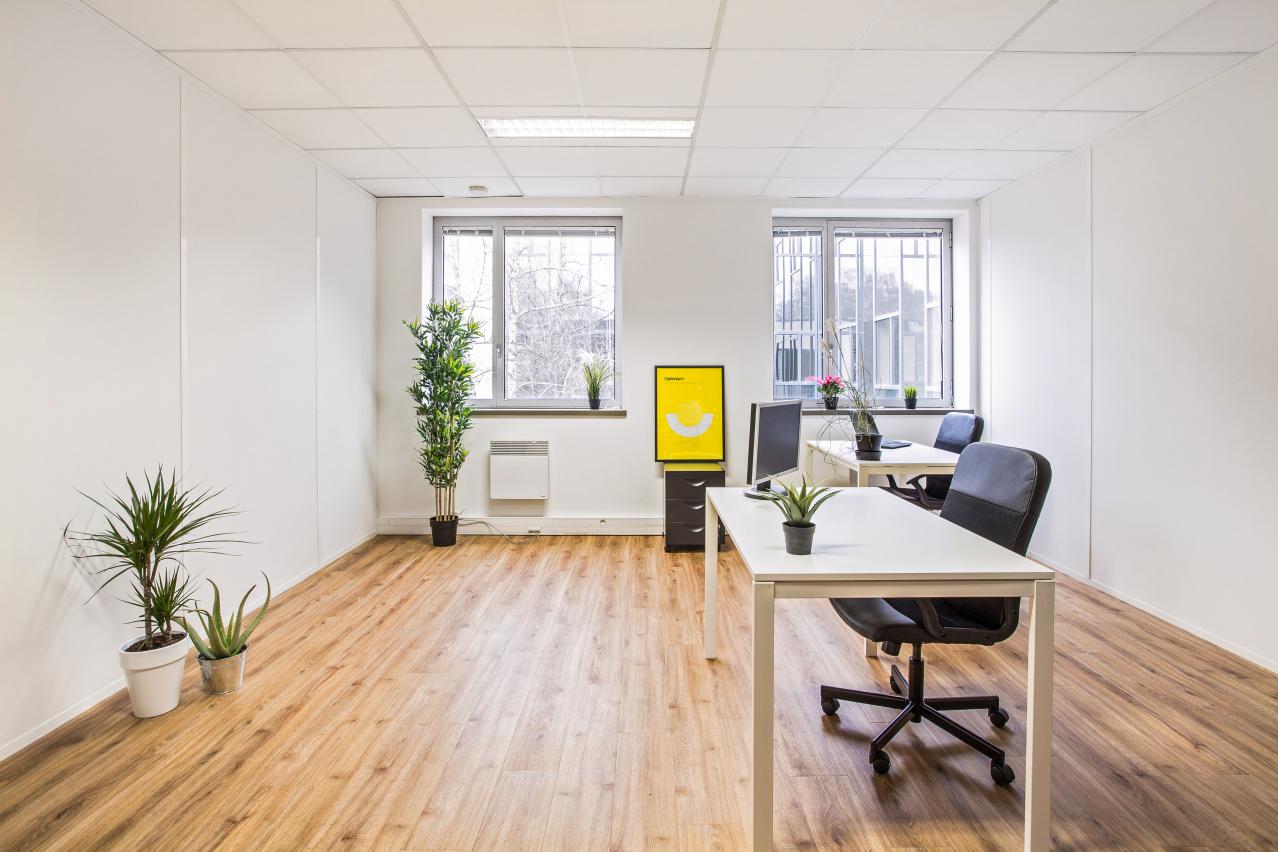 grand bureau fermé la techlid Hub-Grade